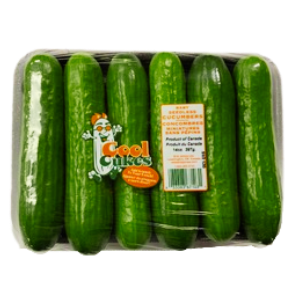 Cool Cukes™ Baby Seedless Cucumbers